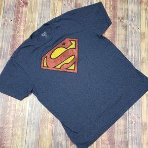 SUPERMAN TEE SIZE LARGE